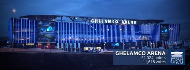 Ghelamco Arena Stadium of the Year 2013