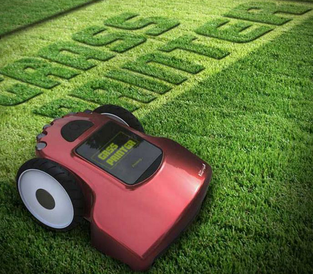 Grass Printer maairobot