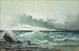 DE ZEE Gustave Courbet, La Vague, 1869.