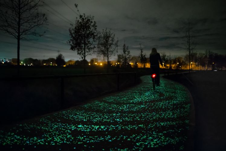 Daan Roosegaarde Van Gogh fietspad
