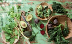 Happy Shake supergroenten © 2014 Diane Hendrikx voor Minestrone Cookbooks