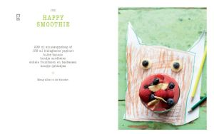 Happy Shake recept Happy Smoothie © 2014 Diane Hendrikx voor Minestrone Cookbooks