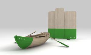 ZNOR 2 Bosq Wall Boat