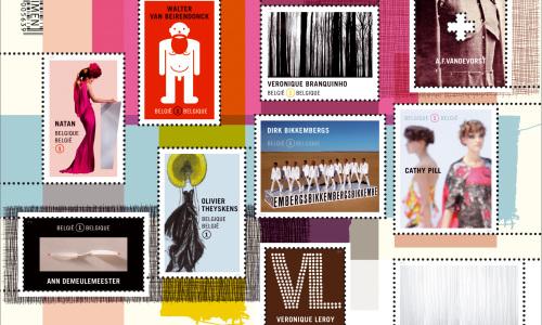 Postzegels met chocoladesmaak