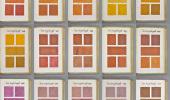 De Pantone kleurengids uit.. 1692
