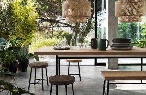 IKEA Sinnerlig tafel 299 bank 99,99 ZNOR