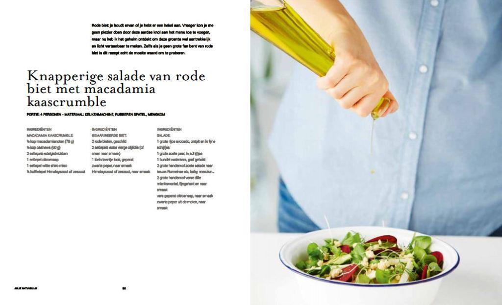 Julie natuurlijk salade rode biet ZNOR