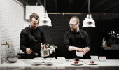 Les Petits Ruisseaux: tijdelijk culinair genot in houtdroogdok