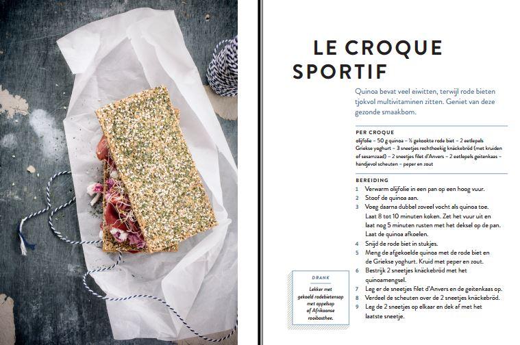 Croque a day Le croque sportif ZNOR