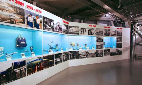 Sabena-expo in Atomium: the sky was the limit