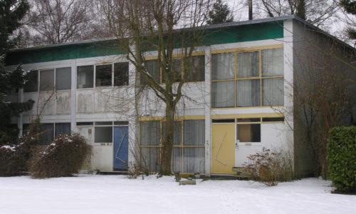 Vierwindenbinnenhof, sociale woningbouw anno 1955
