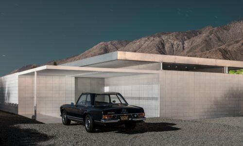 Carchitecture: droomauto's en dito architectuur